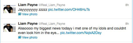 Liam fangirls over Jay Z