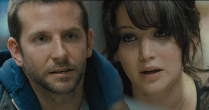 Bradley cooper and Jennifer Lawrence in new film clip