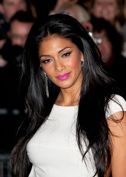 nicole scherzinger drunk on tv