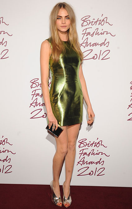 British Fashion Awards Cara Delevingne
