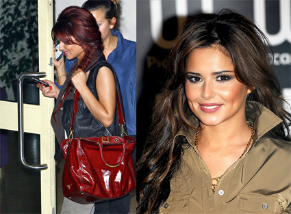 Cheryl Cole Red Hair Extensions. Cheryl Cole goes red!