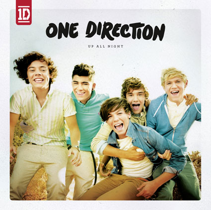 One Direction Up All Night album artwork