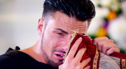 rylan clark reaction on the x factor