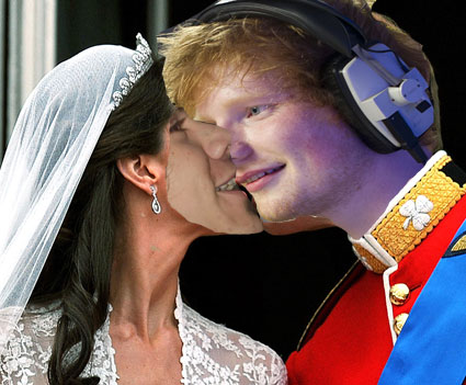 Harry Styles says the most romantic thing in the world to Ed Sheeran