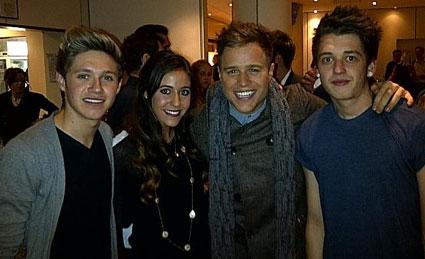 Niall Horan, Amy Green, Olly Murs, X Factor