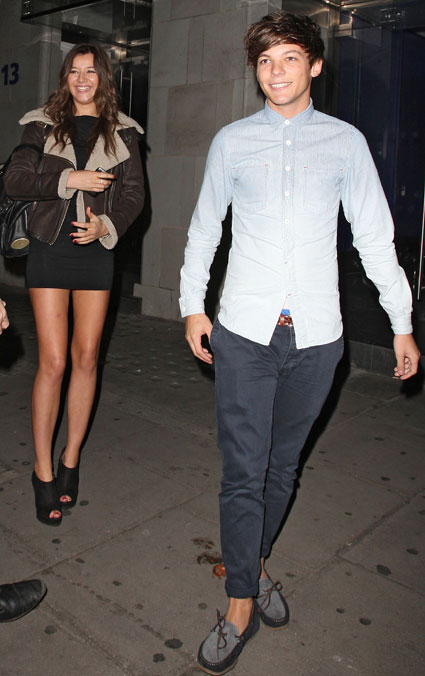 Eleanor Calder is with Louis Tomlinson because she loves him, not because he is famous