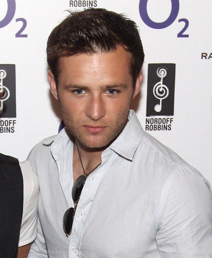 Harry Judd from boyband McFly