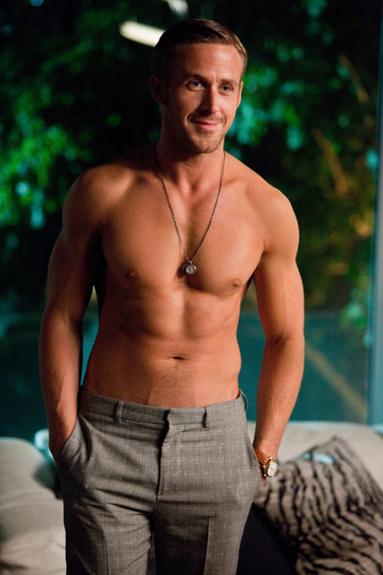 Ryan Gosling topless