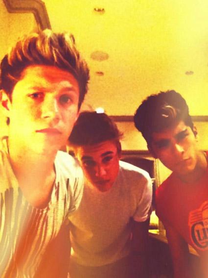 Niall Horan Justin Bieber Zayn Malik