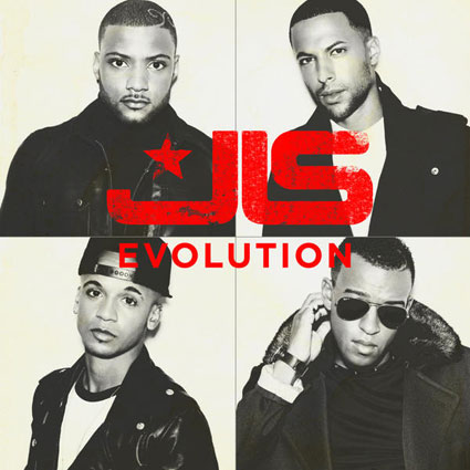 JLS reveal the artwork for new album Evolution