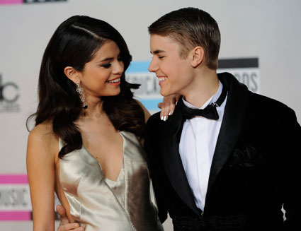 Justin bieber just wants to make Selena Gomez happy..