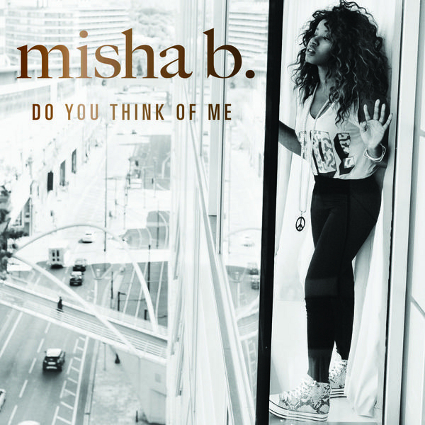 Misha B announces new single Do You Think Of Me and artwork - listen here