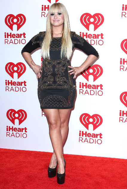 Fash off: Miley Cyrus vs. Demi Lovato at the iHeartRadio festival in Las Vegas