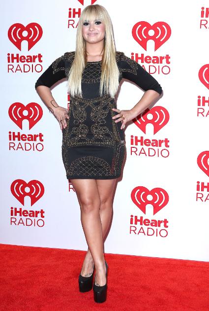 Fash off: Miley Cyrus vs. Demi Lovato at the iHeartRadio festival in Las Vegas