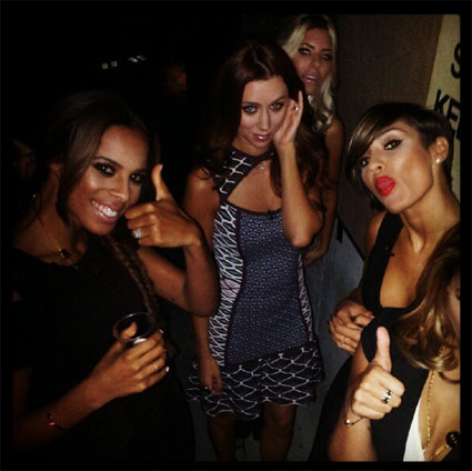 Celeb Twitter pics of the day - The Saturdays