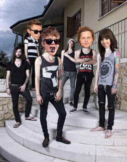 The Wanted, Justin Bieber and Carly ae Jepsen get the punk treatment
