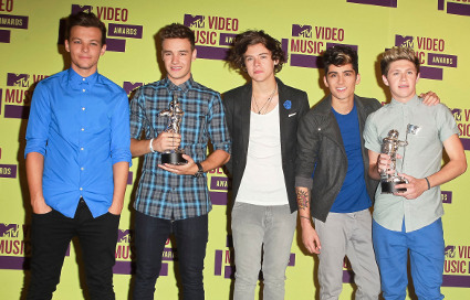 one direction at the mtv vmas - pictures