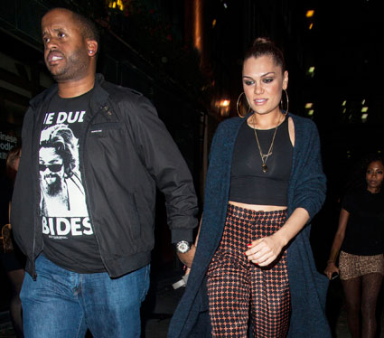 jessie j out with justin bieber's bodyguard kenny