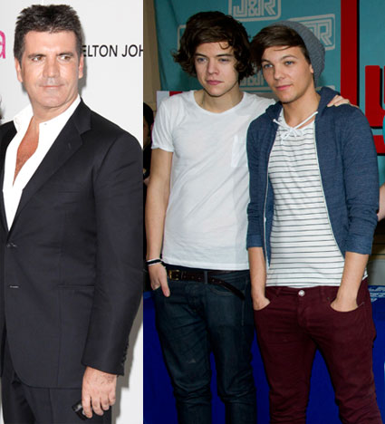 simon cowell wants harry styles and louis tomlinson for x factor judges