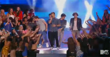 one direction perform one thing at the mtv vmas 2012