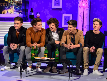 one direction on alan carr chattyman