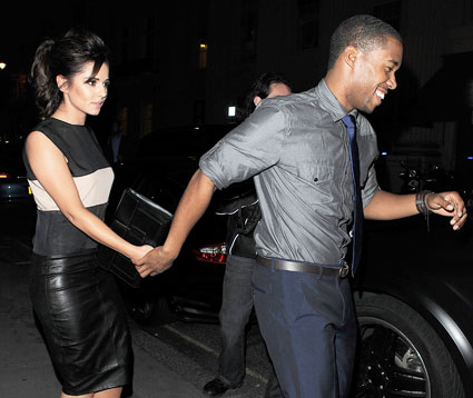 cheryl cole holding hands with dancer boyfriend tre holloway in london