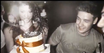 liam payne and danielle peazer out in funky buddha