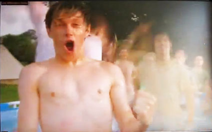 niall horan topless in one direction live while we're young video