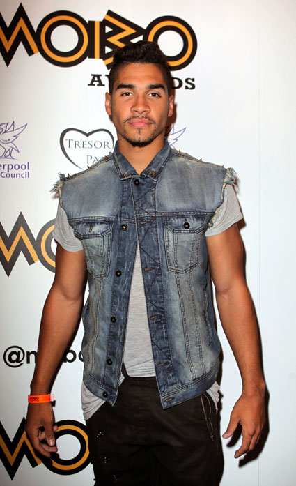 louis smith at mobo launch 2012