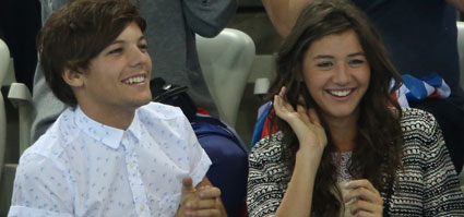 Louis and Eleanor: awwww