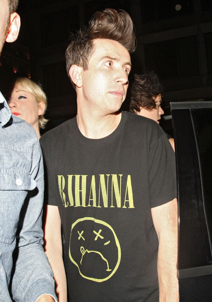 harry styles and nick grimshaw at mahiki
