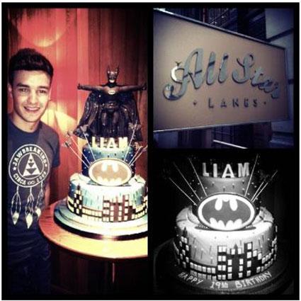 liam  payne birthday cake