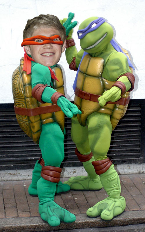 niall horan teenage mutant ninja turtles