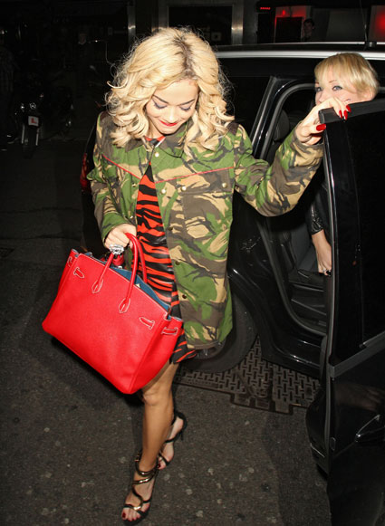 rita ora at mahiki with nick grimshaw and harry styles