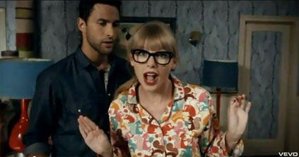 taylor swift we are never ever getting back together video