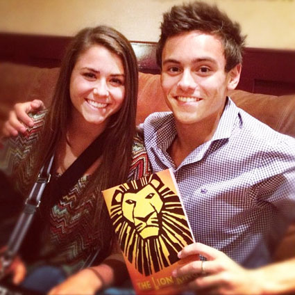 tom daley and kassidy cook