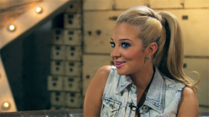 tulisa on 4music the crush