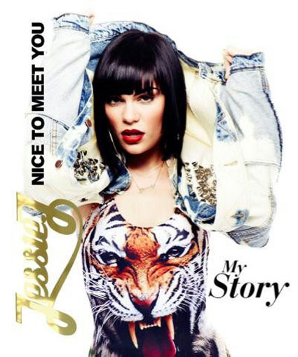 Jessie J tweets first look at the cover of her new autobiography, Nice To Meet You