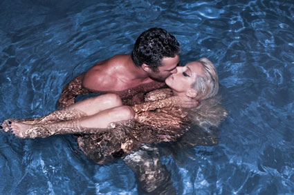 Lady Gaga posts naked picture of her and boyfriend Taylor Kinney on Little Monsters