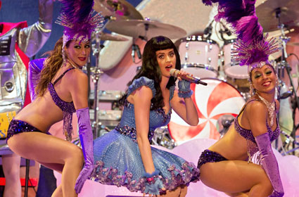 Katy Perry sometimes wees in a bucket before she goes on stage