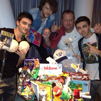 It's the week in celeb pics - The Wanted