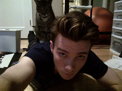It's the week in celeb pics - Chris Colfer