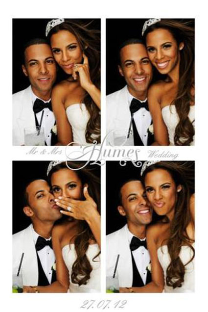 It's the week in celeb pics - Rochelle and Marvin Humes