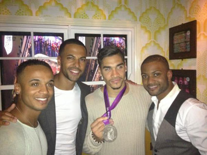 It's the week in celeb pics - JLS