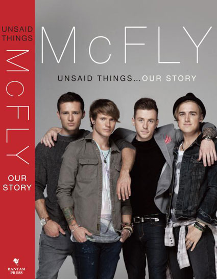 McFly release artwork for new autobiography Unsaid Things: Our Story