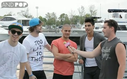 Jay McGuiness explains how Siva Kaneswaran likes to rub Italian spices into his balls
