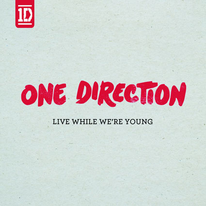 One Direction film video for new single Live While We're Young