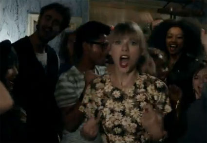 Taylor Swift releases teaser video for we are never ever getting back together