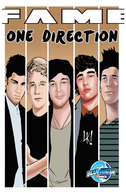 One Direction to star in new comic by Fame: One Direction by Bluewater Comics