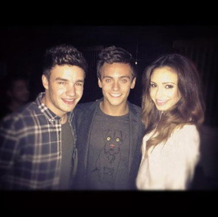 Liam takes Tom Daley on a night out